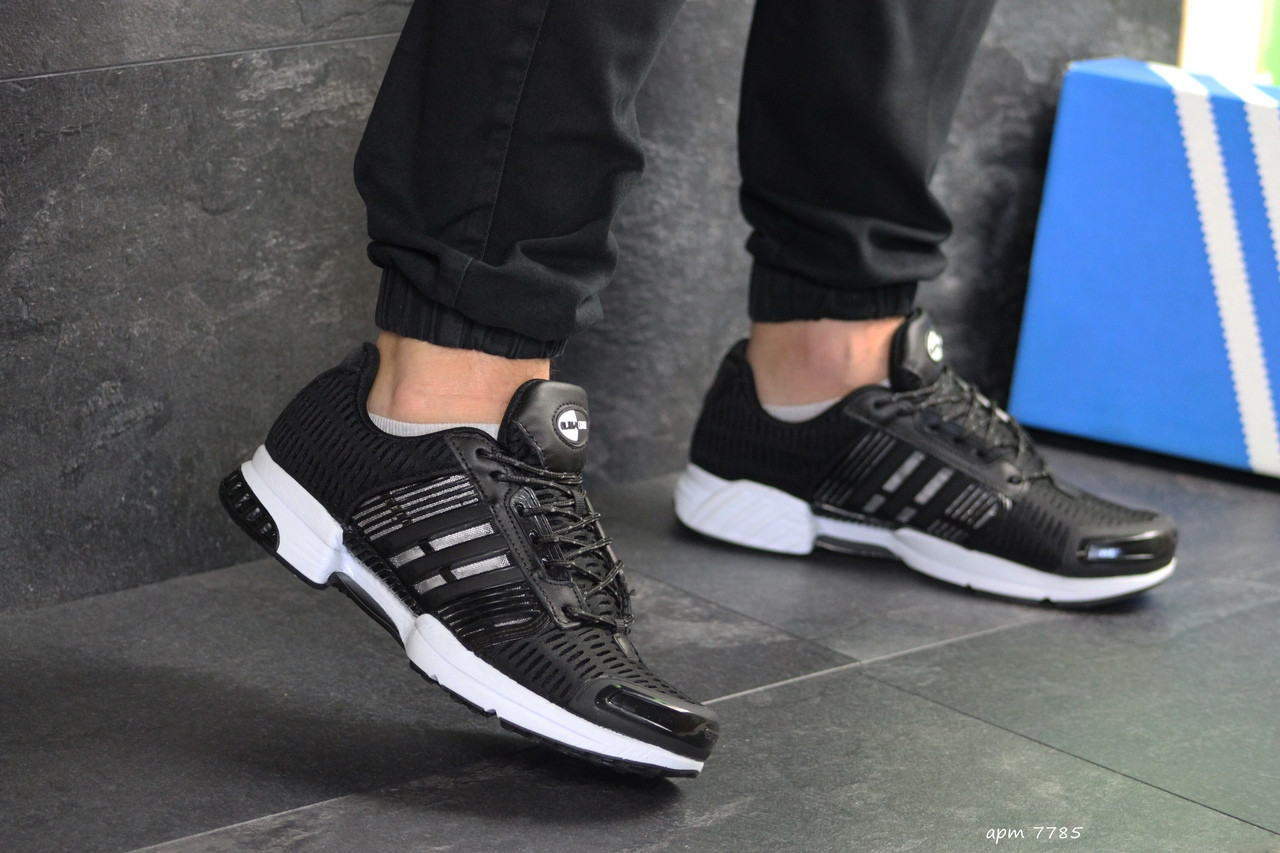 Чоловічі кросівки Adidas Clima Cool (чорно-білі)