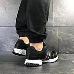 Чоловічі кросівки Adidas Clima Cool (чорно-білі), фото 4