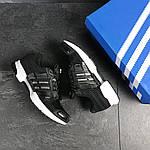 Чоловічі кросівки Adidas Clima Cool (чорно-білі), фото 6