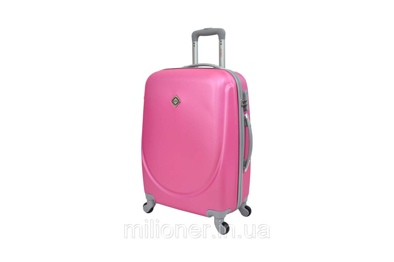 Чемодан Bonro Smile (большой) розовый