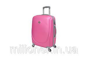 Чемодан Bonro Smile (большой) розовый, фото 2