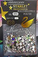 Камушки для декора ногтей Starlet 720 шт