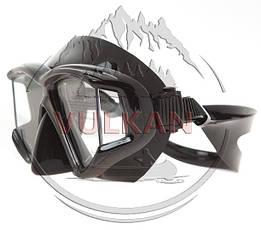 Маска Marlin PANORAMIC black (четырехстекольная), фото 3