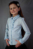 Блузка  школьная красивая мод.2015, фото 1