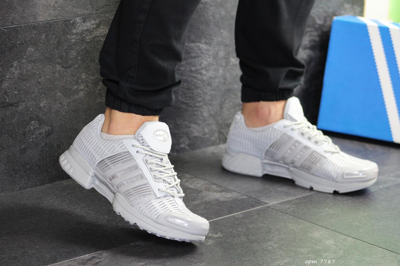 Мужские кроссовки Adidas Clima Cool (светло-серые)