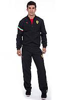 Оригинальный костюм для спорта PUMA Ferrari, Формула Ван Тайм, износоустойчив, чёрного цвета, размер S (46-48)