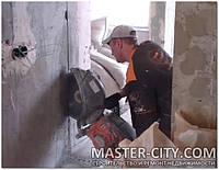 Демонтаж, алмазная резка проемов, стен, бетона Харьков