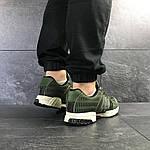 Мужские кроссовки Adidas Clima Cool (темно-зеленые), фото 6