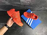 Чоловічі кросівки Adidas Clima Cool (помаранчеві), фото 4