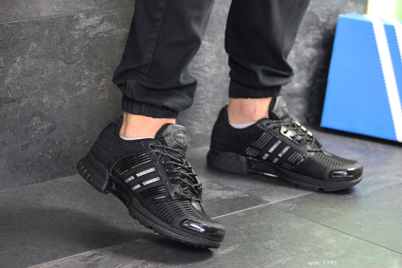 Мужские кроссовки Adidas Clima Cool (черные)