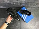 Мужские кроссовки Adidas Clima Cool (черные), фото 3
