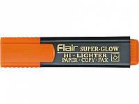"""Маркер текстовый Flair 850 оранжевый 1-5 мм """"Superglow Hi-lighter"""""""