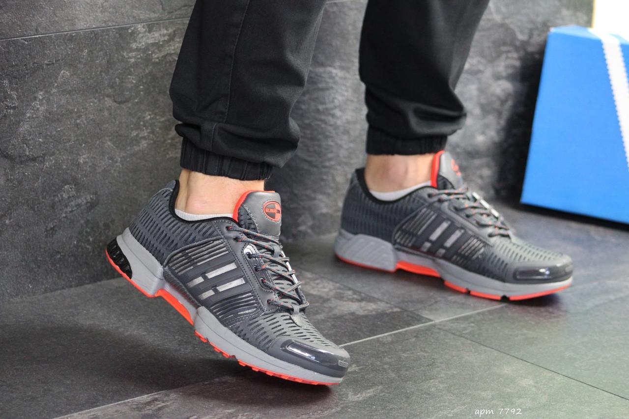Мужские кроссовки Adidas Clima Cool (серые)