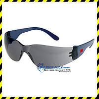 Защитные очки 3M 2721, темные линзы (США)