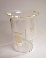 Стакан мерный Н-1-100 ТС (низкий с носиком) со шкалой V-100 мл ГОСТ 25336-82 из термически стойкого стекла