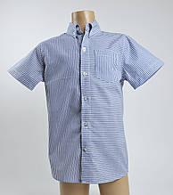 Рубашка для мальчика (короткий рукав) 122