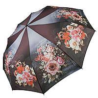Жіночий напівавтомат зонт Susino, квітковий принт, 43006-4, фото 1
