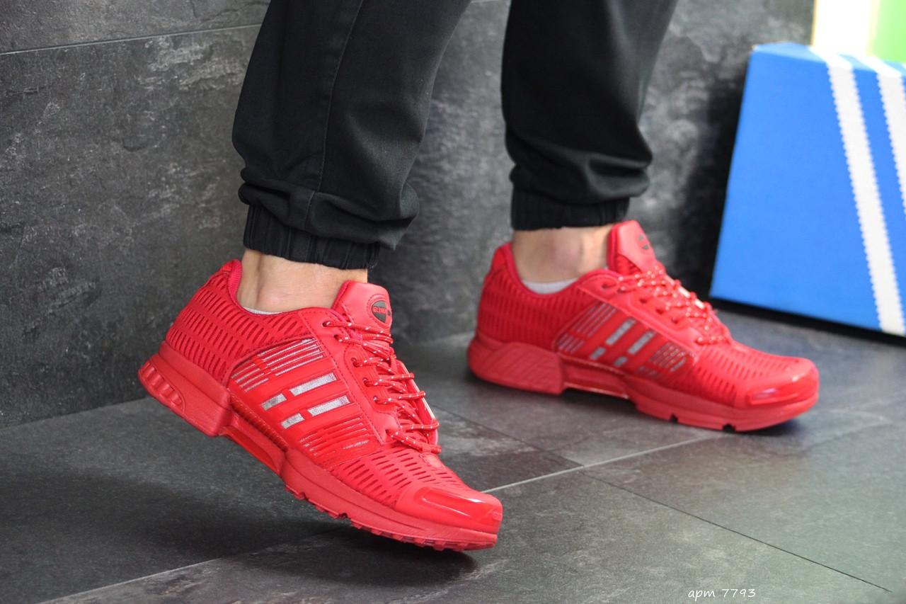 Мужские кроссовки Adidas Clima Cool (красные)