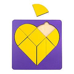 Сортер: Сердце в рамке