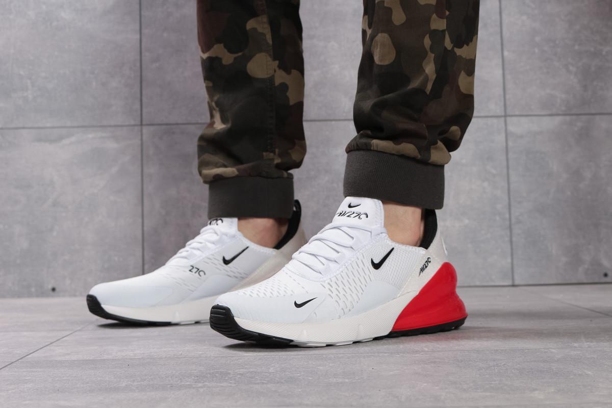 1547c00b Мужские кроссовки Nike Air Max 270, белые с красным / чоловічі кросівки Найк  (Топ