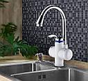 Проточный водонагревающий кран для кухонной мойки Zerix ELW-01, фото 2