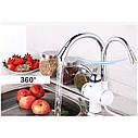 Проточный водонагревающий кран для кухонной мойки Zerix ELW-01, фото 6