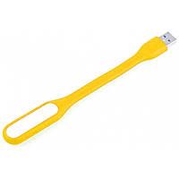 ✧Мини USB лампа Lesko Желтый светодиодная LED подсветка для ПК ноутбука