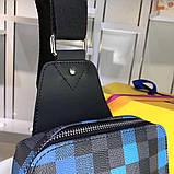 Сумка Луи Витон мужская, канва Damier Graphite Pixel, фото 4
