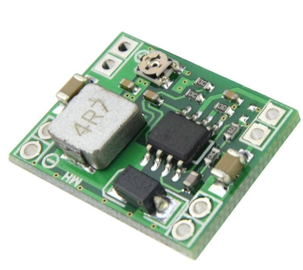 Mini MP1584EN понижуючий модуль струм 3А