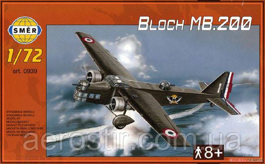 Marcel Bloch MB.200 1/72 Smer 0939