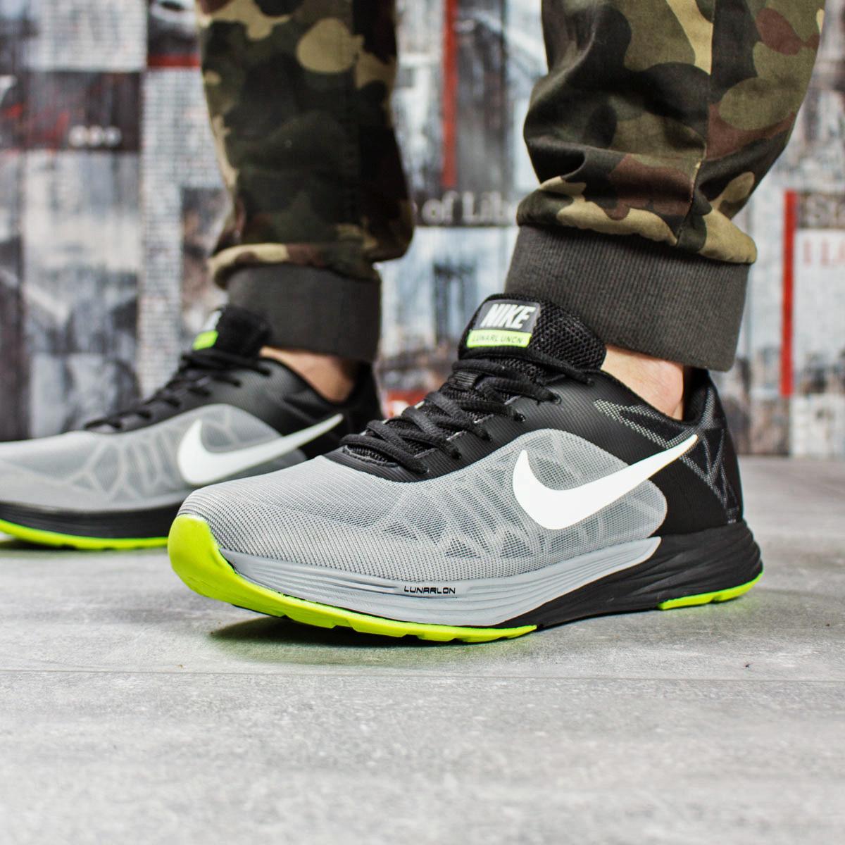 b33ddf21 Мужские кроссовки Nike Lunar Uncn, серые / найк лунар / чоловічі кросівки  (Топ реплика