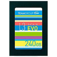 """➘Накопитель SSD Team 2.5"""" 240GB L3 EVO SATAIII TLC (T253LE240GTC101) твердотельный хранение данных ПК"""