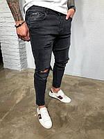 Мужские джинсы темные Black Island 5219-3402
