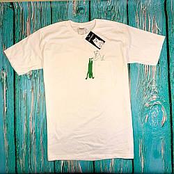 Белая футболка RipNDip • Мужская и женская • Бирки ориг