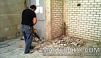 Алмазная резка проемов, стен, перегородок Демонтажные работы в Харькове
