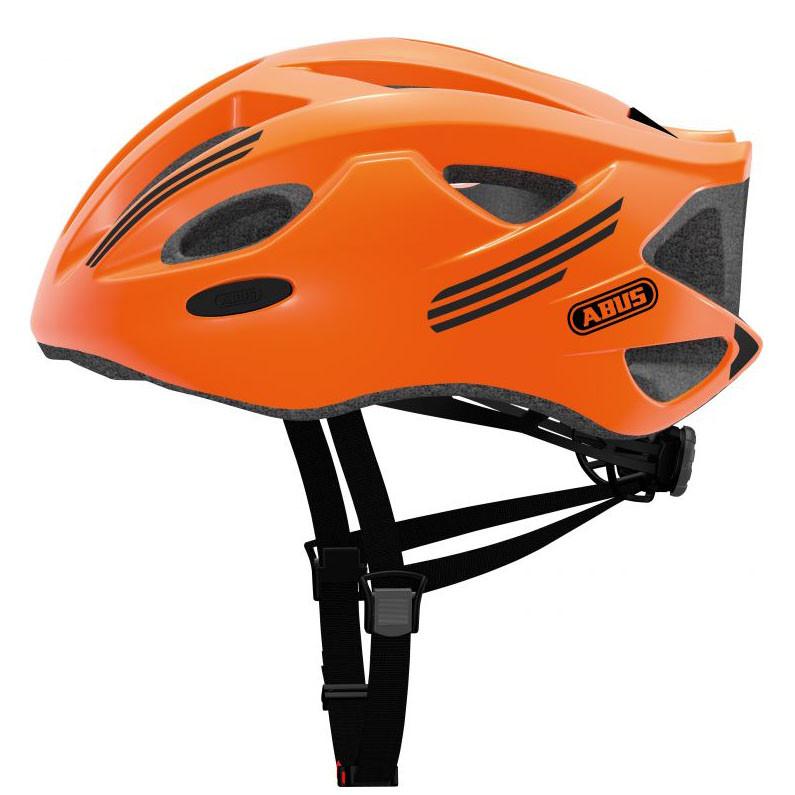 Шолом велосипедний ABUS S-CENSION L Neon Orange