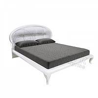 Двоспальне ліжко 160х200 мяка спинка з каркасом у спальню Імперія Міромарк