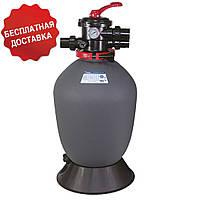 Песочный фильтр Emaux T600B Volumetric, 14.6 м³/ч, верхнее подключение