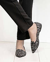Балетки женские кожаные , фото 1