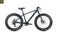 """Велосипед Avanti FAT 4.0 26"""" черно-синий"""