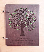 Дерев'яний альбом для фотографій, фото 1