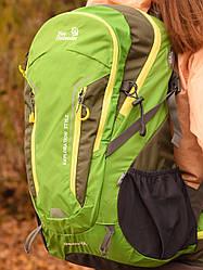 Рюкзак спортивный 40 литров New Outlander для путешествий; городской, велорюкзак- зеленый(AV 1221)