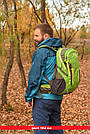 Рюкзак спортивный 40 литров New Outlander для путешествий; городской, велорюкзак- зеленый(AV 1221), фото 6