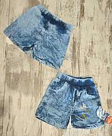 Детские джинсовые шорты для мальчиков 3-7 лет