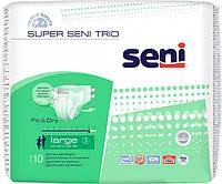 """Подгузники для взрослых """"Seni Super Trio"""" р-р 3 (L) 100-150 см 10 шт."""