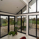 Панорамные алюминиевые окна