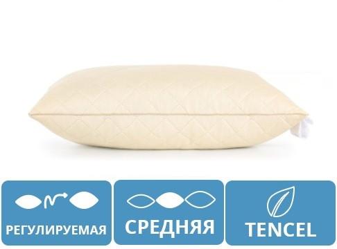 Подушка TENCEL Carmela 60х60 СРЕДНЯЯ 369