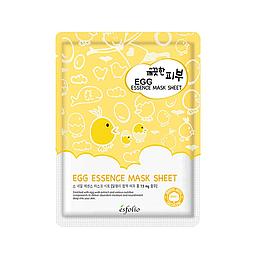 Тканевая маска с яйцом ESFOLIO Pure Skin Egg Essence Mask Sheet