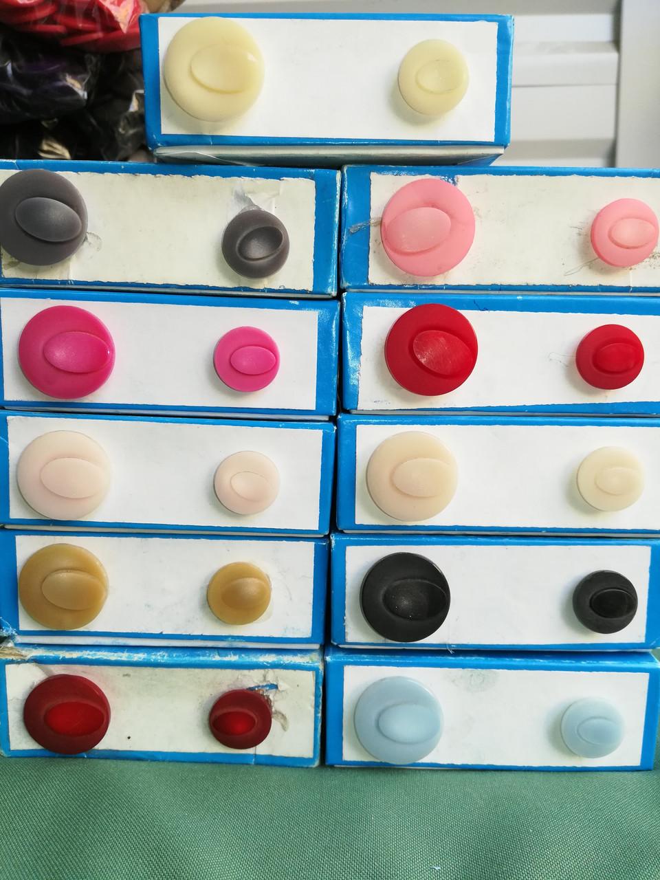 Пуговица PG727 в 2-х размерах (разные цвета)