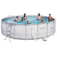 Каркасный бассейн Bestway 56427/56232 (549х132) с картриджным фильтром